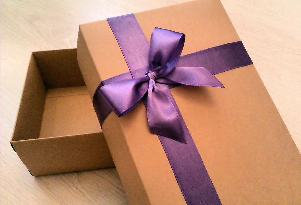 Упаковка подарка своими руками из бумаги фото